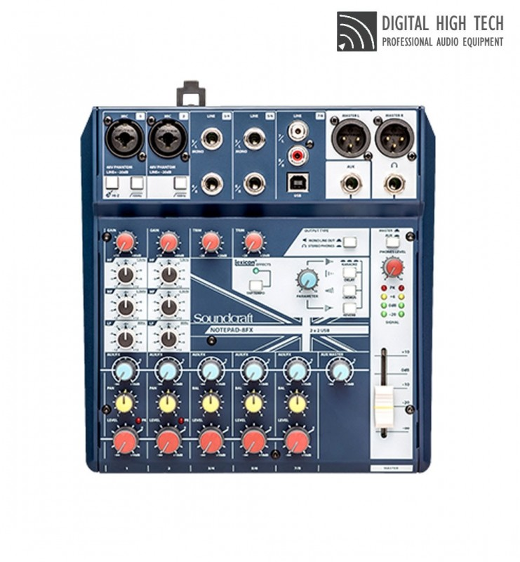 SOUNDCRAFT NOTEPAD8FX NOTEPAD-8FX 사운드크래프트 믹서