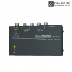 BEHRINGER MICROPHONO PP400 베링거 포노 프리앰프